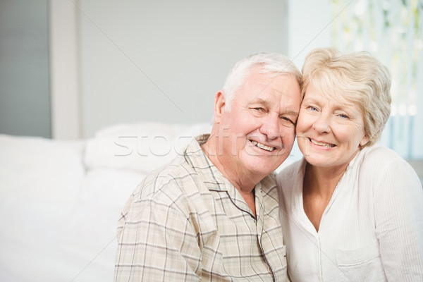 Portrait of happy senior couple Stock photo © wavebreak_media