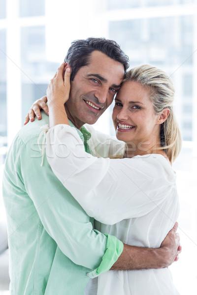 Ritratto romantica Coppia home adulto Foto d'archivio © wavebreak_media