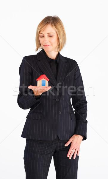 Volwassen zakenvrouw huis witte vrouw Stockfoto © wavebreak_media