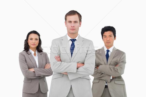 Jeunes blanche affaires affaires costume Photo stock © wavebreak_media