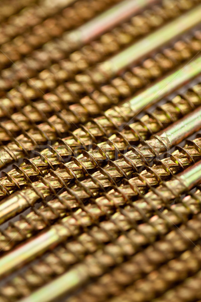 Foco tiro dourado masculino Foto stock © wavebreak_media