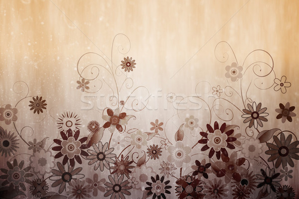 Digitally generated girly floral design Stock photo © wavebreak_media