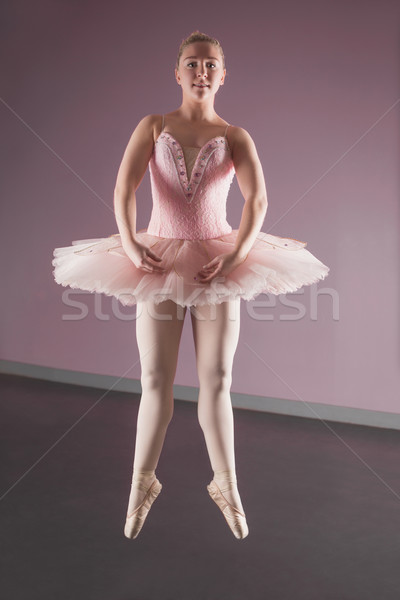 Gracieux ballerine danse ballet studio danse Photo stock © wavebreak_media