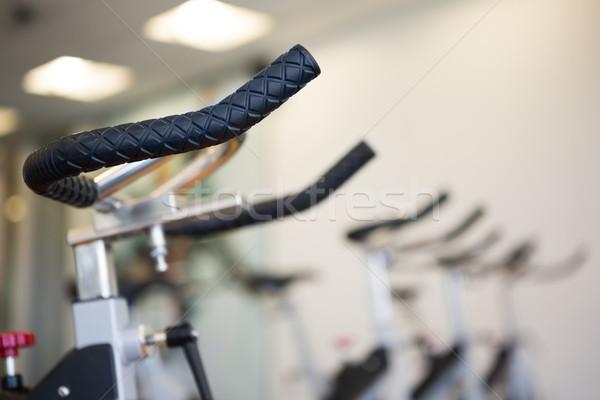 Csetepaté testmozgás biciklik fókusz előtér szabadidő Stock fotó © wavebreak_media