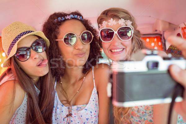 Сток-фото: друзей · дороги · поездку · автомобилей · человека