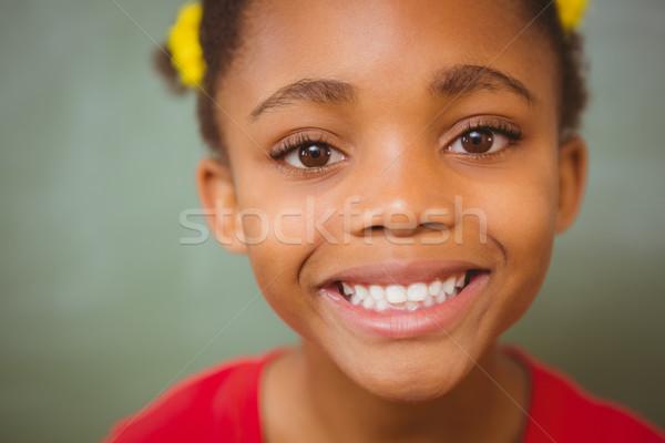 Stock fotó: Portré · aranyos · kislány · közelkép · lány · arc