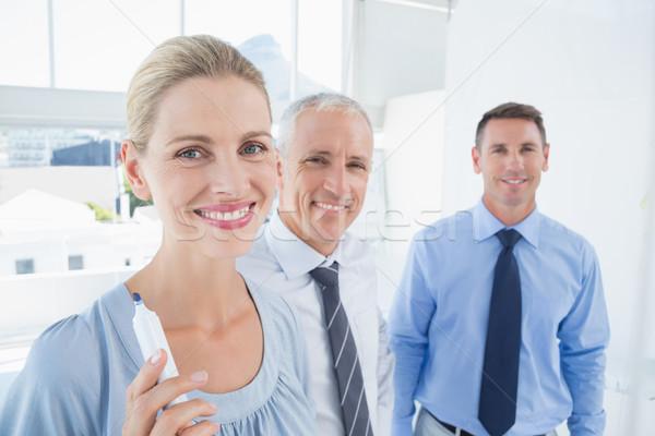 ビジネスチーム 書く ブレーンストーミング 考え ボード オフィス ストックフォト © wavebreak_media