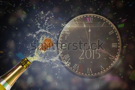 изображение большой часы фейерверк Сток-фото © wavebreak_media