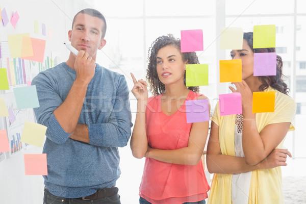 концентрированный указывая служба бизнеса Сток-фото © wavebreak_media