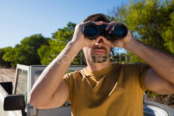 Homem olhando moço masculino estilo de vida estacionamento Foto stock © wavebreak_media