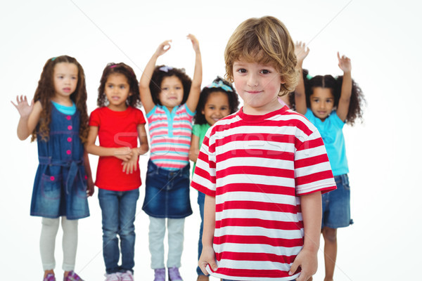 Small group of kids standing together Stock photo © wavebreak_media