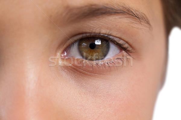 Boy with hazel eyes Stock photo © wavebreak_media