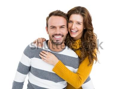 Portre gülen beyaz adam mutlu Stok fotoğraf © wavebreak_media
