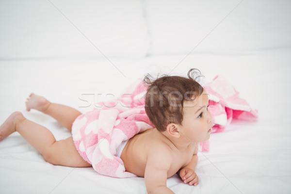 Cute baby home huis vrouwelijke Stockfoto © wavebreak_media