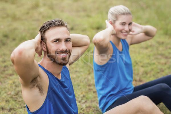 Montare persone esercizio uomo fitness Foto d'archivio © wavebreak_media