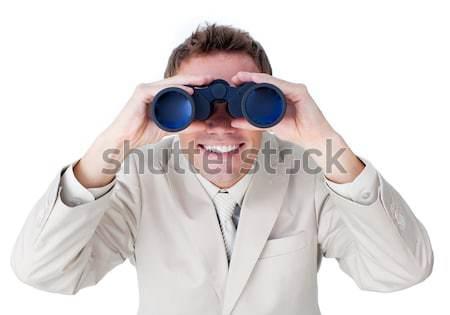 Smiling businesswoman looking to the future Stock photo © wavebreak_media