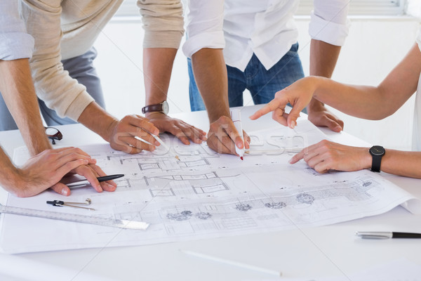 Casual architecture team working together Stock photo © wavebreak_media