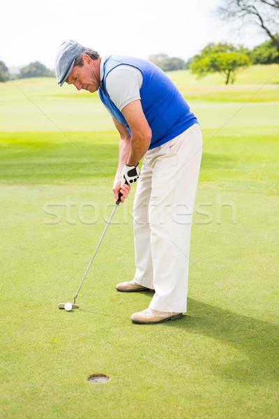 Golfer on the putting green  Stock photo © wavebreak_media