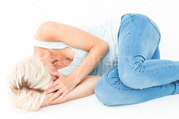 печально полу белый женщины красивой Сток-фото © wavebreak_media