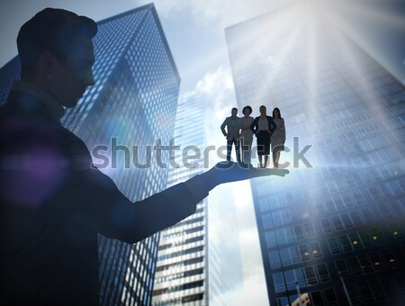 Stock photo: Composite image of stocks and shares