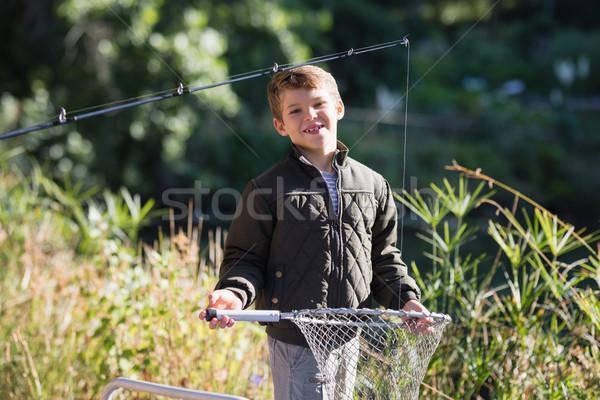 портрет улыбаясь мальчика Постоянный Сток-фото © wavebreak_media