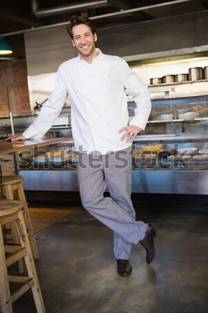 Portrait Homme chef permanent ordre gare Photo stock © wavebreak_media