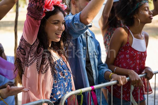 グループ 友達 音楽祭 公園 ダンス ストックフォト © wavebreak_media