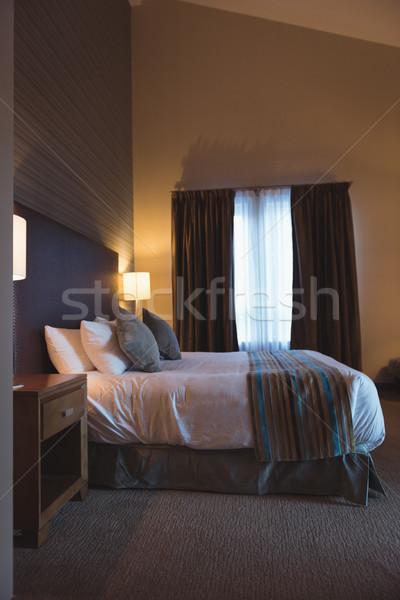 пусто современных спальня интерьер домой таблице Сток-фото © wavebreak_media