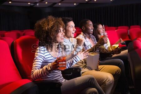 Casal assistindo filme teatro homem filme Foto stock © wavebreak_media