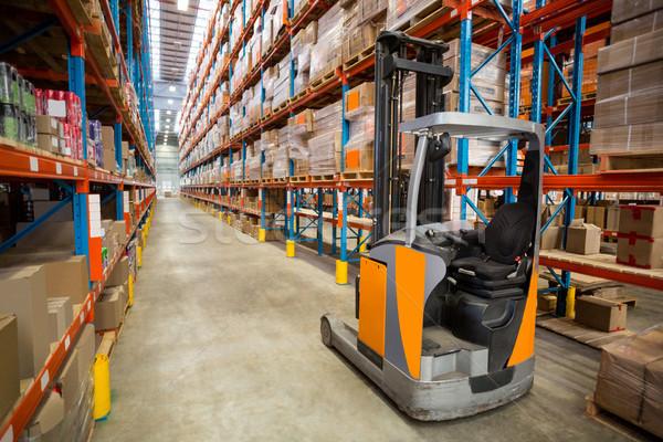 Plataforma almacén industria fábrica comunicación Foto stock © wavebreak_media