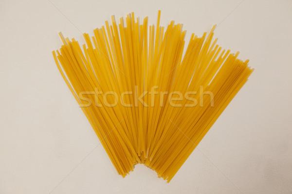 Espaguetis pasta blanco mesa almuerzo estilo de vida Foto stock © wavebreak_media