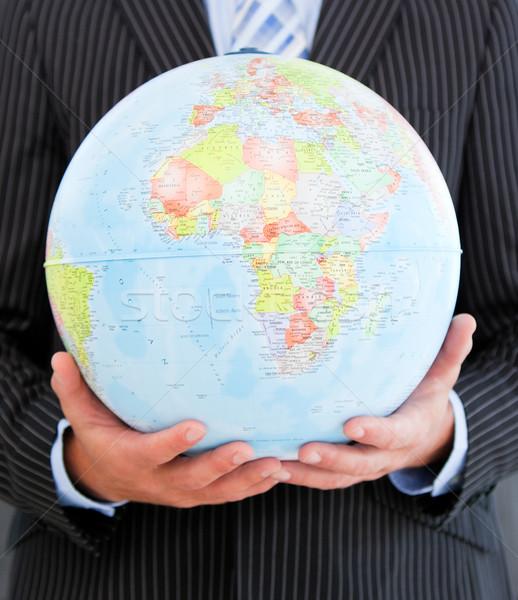харизматический бизнесмен мира служба Сток-фото © wavebreak_media