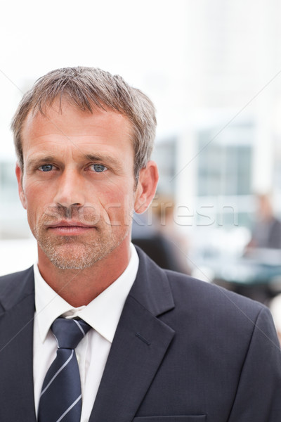 Serious businessman in his office Stock photo © wavebreak_media