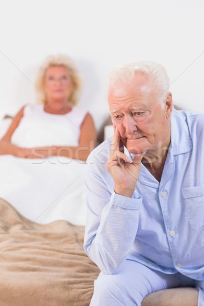 Upset old couple Stock photo © wavebreak_media