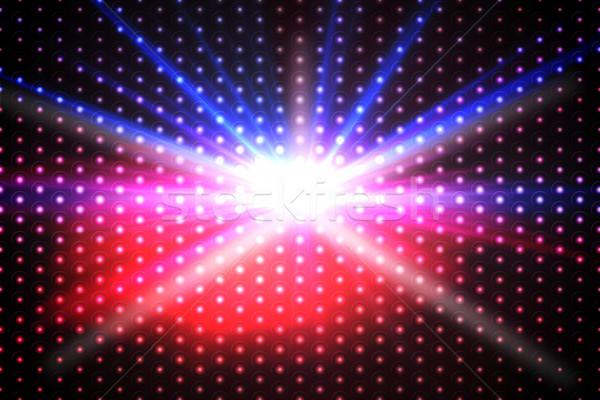 Cyfrowo wygenerowany disco cool kolory strony Zdjęcia stock © wavebreak_media