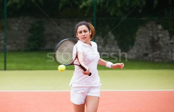 小さな ボール スポーツ フィットネス ストックフォト © wavebreak_media