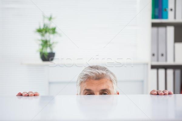 神経質な ビジネスマン デスク オフィス ビジネス プロ ストックフォト © wavebreak_media