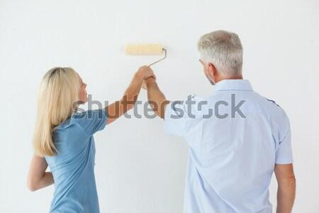 Parents arguing beside their upset daughter Stock photo © wavebreak_media