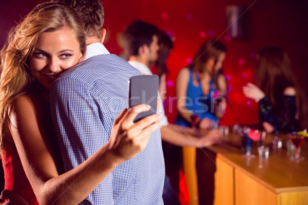 Cute couple slow dancing together Stock photo © wavebreak_media