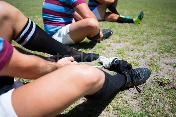 регби носки сидят области Сток-фото © wavebreak_media