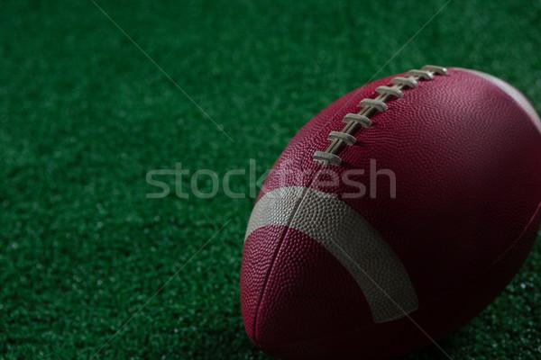Football noir objectif loisirs Photo stock © wavebreak_media