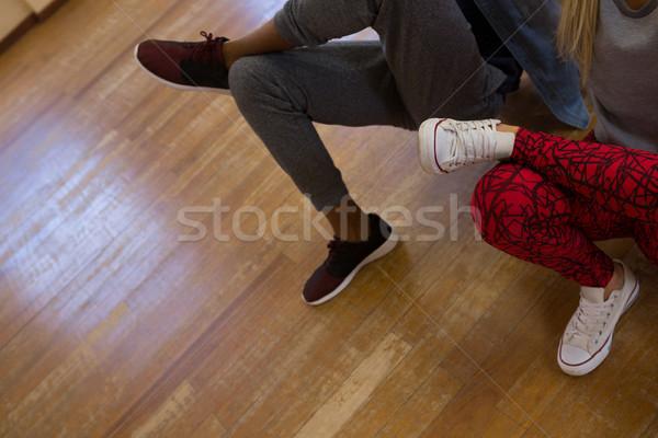 Low section of dancers rehearsing Stock photo © wavebreak_media