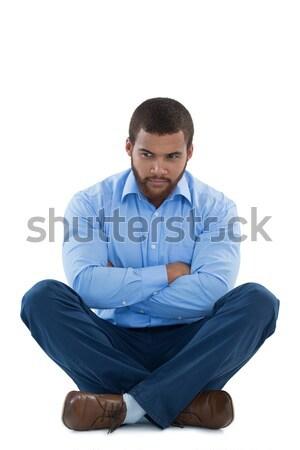 Ontdaan mannelijke uitvoerende vergadering witte Stockfoto © wavebreak_media