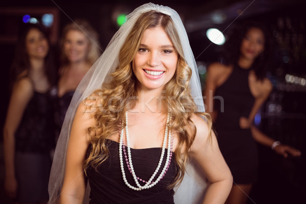 Woman celebrating her bachelorette party Stock photo © wavebreak_media