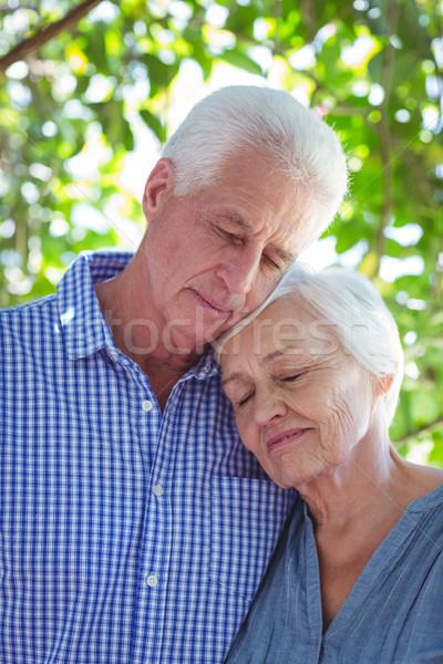 couple with eyes closed  Stock photo © wavebreak_media