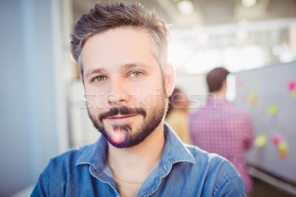 Portré igazgató kreatív iroda fiatal férfi Stock fotó © wavebreak_media