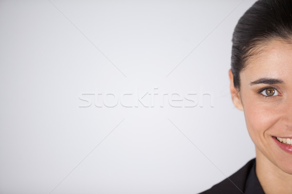 Woman wearing contact lens Stock photo © wavebreak_media