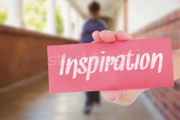 Inspiracja dość nauczyciel pomoc uczniowie klasie Zdjęcia stock © wavebreak_media