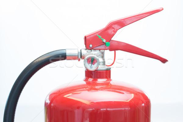 Top of red fire extinguisher Stock photo © wavebreak_media