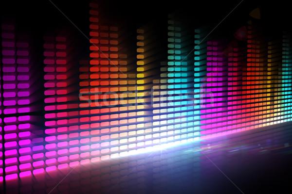 Numérique disco design différent couleurs fête Photo stock © wavebreak_media